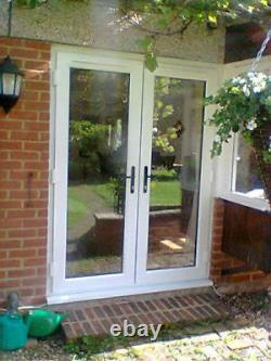 2 X French Doors Any Size Up To 1800mm Wide, Open Out, 2 X Handles