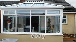 4m x 3m Double hipped Edwardian Conservatory Supplied & Fitted Only £ 7495.00