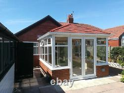 6m x 3m Hipped Edwardian Conservatory With A Tiled Warm Roof Supplied & Fitted