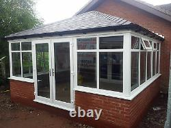 6m x 3m Solid Tiled Replacement Edwardian Conservatory Roof Supplied & Fitted