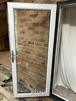 Anthracite grey upvc french doors
