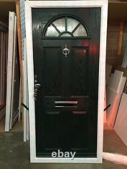 Brand New Upvc Composite Door W978mm X H2075mm Inc 30mm Large Door
