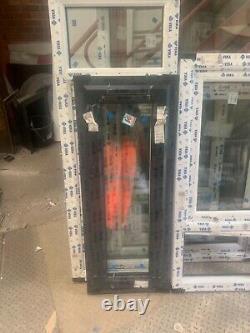 Brand New Upvc Window anthracite grey /white 460 mm x 1150 h fully glazed