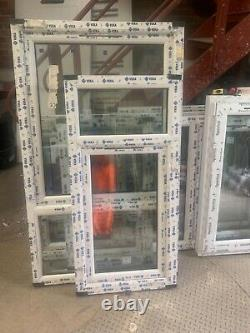Brand New Upvc Window anthracite grey /white 630mm W 1300h fully glazed