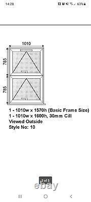 Brand New White Casement Upvc Window