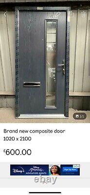 Brand new anthracite composite door 1020 x 2090
