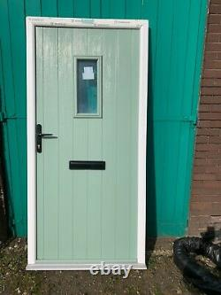 Brand new chartwell green/ white composite door 1010 x 2090