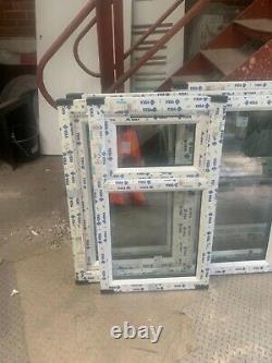 Brand new upvc fully glazed top opener 590 x 1020 h fully glazed