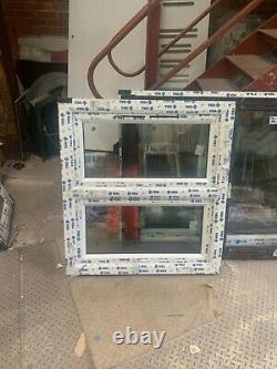 Brand new upvc fully glazed top opener 920 h 1000 W