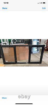 Brand new upvc window in anthracite grey/white 2390 W x 1160 fully glazed