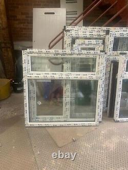 Brand new upvc window top opening sash 1170 mm w x 1180 mm h fully glazed
