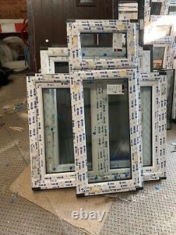Brand new upvc window top opening sash 600 x 1470h fully glazed