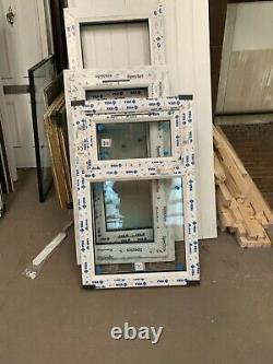 Brand new upvc window top opening sash in white 640 W x 1020 h