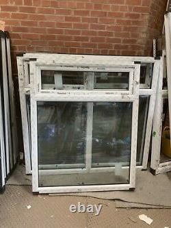 Brand new upvc window with top opening sash 1175W 1470 h fully glazed