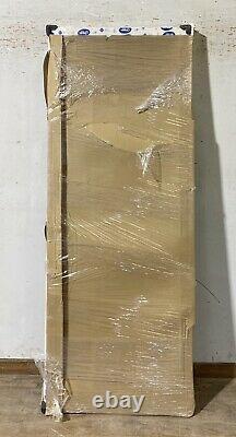 DOOR STOP COMPOSITE BACK WOOD GRAINENTRANCE DOOR-GRP-WHITE-NEW-NO GLASS-veka
