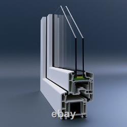 Dreh-Kipp-Links, PVC Fenster, VEKA 70 AD, WinkHaus, Weiß, Glas 1,0