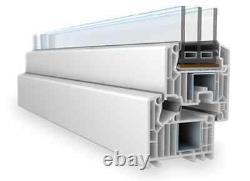 Dreh-Kipp-Links, PVC Fenster, VEKA 82 MD Kellerfenster Kunststoff WinkHaus, Weiß