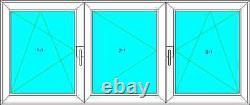 Dreh-Kipp-Links, Stulp, Dreh Links, Dreh-Kipp-Rechts, PVC, VEKA 70 AD, Glas 1,0