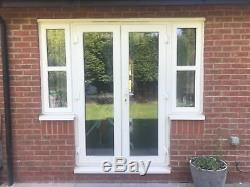 FRENCH DOORS SIZES 1600MM X 2100MM 2 X SIDE PANELS 700mm x 2100mm