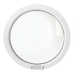 Fenêtre ronde fixe double ou triple vitrage 500 550 600 650 700 800 900 1000 mm