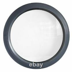 Finestra rotonda fisse PVC Antracite sabbia 500 550 600 650 700 750 800 850 900