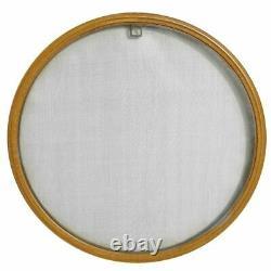 Finestra rotonda oblò a battente 750 mm in PVC con zanzariera