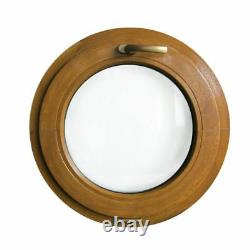 Finestra rotonda oblò a vasistas in PVC colore varie misure