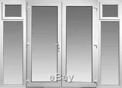 French Doors With 2 X Opening Side Panels Any Size Made To Measure