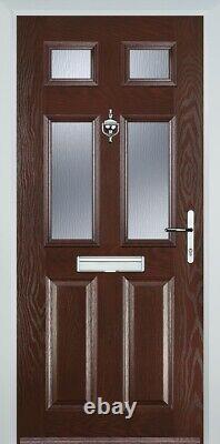 GRP1 Composite Doorset in PVCu Frame Made 2 Measure