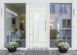 Haustür Hauseingangstür mit PVC Profilen von Veka