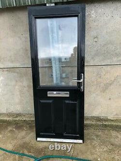 Job Lot Of White Upvc Double Glazed Windows A Half Glazed Door Plus Glass Units