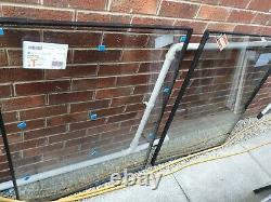 LARGE VEKA WHITE WINDOW FRAME NEW and GLASS