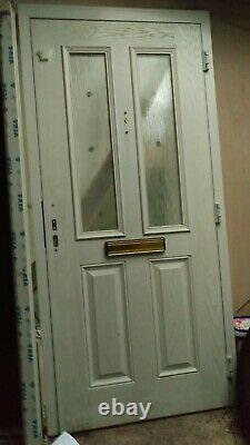 New Composite Front Door (White) 985mm x 2070mm (+15 mm add on available)
