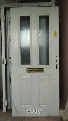New UPVC Front Door 980 X 2070 Dark Green