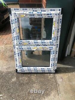 New Upvc White Casement Window 690mm wide x 1000mm high