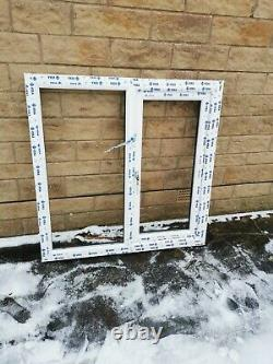 New Veka anthracite grey Upvc Window frame with clear glass