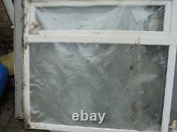 New White UPVC Window 1195 x 1135