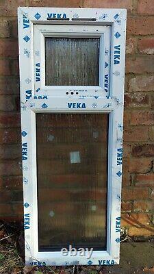 New White UPVC Window 680 x 1170