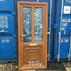 Oak Upvc Front Door