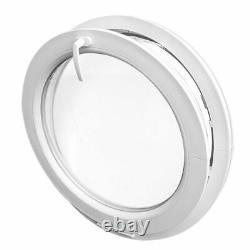 Oeil de boeuf à soufflet blanc PVC diamètre 500 550 600 650 700 800 900 1000 mm