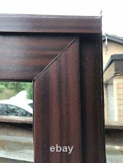 Reclaimed Mahogany Effect Upvc Sliding Patio Door W1595mm X H2085mm Inc Cill