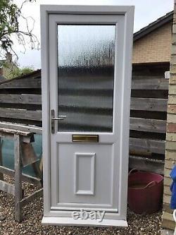 Reclaimed Upvc Door W850mm X H2090 mm Inc30mm Cill