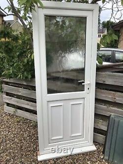 Reclaimed Upvc Door W850mm X H2095mm Inc30mm Cill