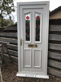 Reclaimed Upvc Door W872mm X H2080mm Inc30mm Cill