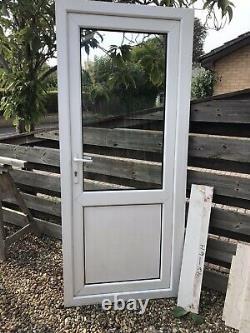 Reclaimed Upvc Door W880mm X H2085mm Inc30mm Cill