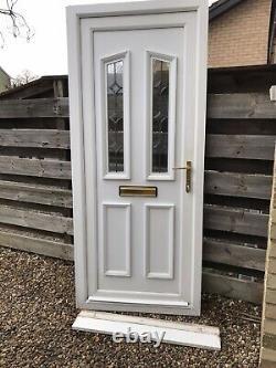 Reclaimed Upvc Front Door W890mm X H2100mm Inc30mm Cill