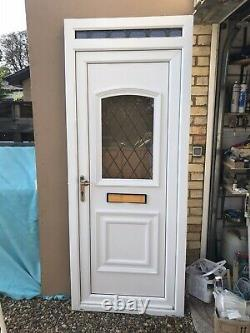 Reclaimed Upvc Front Door W895mm X H2245mm Inc30mm Cill. Could Be Reduced To 2.1