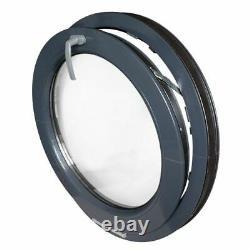 Round Window TILT Anthracite Grey 500 550 600 650 700 800 900 1000 mm uPVC color