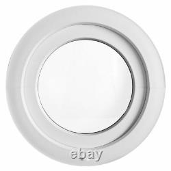 Round Window TILT White uPVC 600 650 700 750 800 mm with the E3D Hinge