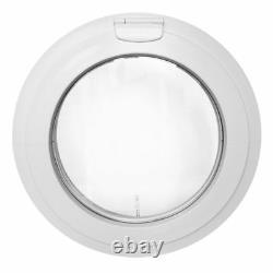 Round Window Top Hinged uPVC White Diameter 65 cm 70 cm 75 cm 80 cm